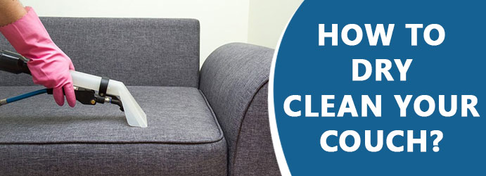 How to dry clean your couch